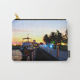 Night falls over lake Entrance Carry-All Pouch