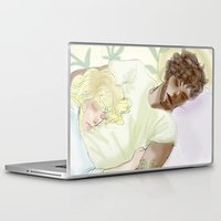 les mis Laptop & iPad Skins featuring Sleeping ExR Les Mis by Pruoviare