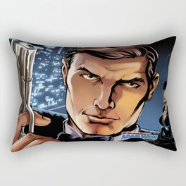 Adam West image #2 Rectangular Pillow