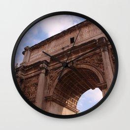 Roman Forum Arch Wall Clock