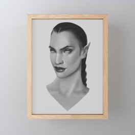 Vanity of Queen Framed Mini Art Print