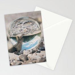 Lensball Landscapes Stationery Cards