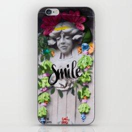 Smile - Cara Dura Proyect iPhone Skin