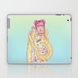 Candid Candy Lady Laptop & iPad Skin