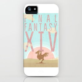 Final Fantasy XIV poster iPhone Case