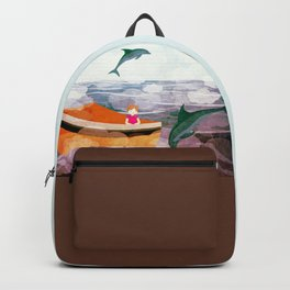When dolphins are around 3 Backpack