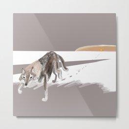 Totem Russian Wolf Metal Print