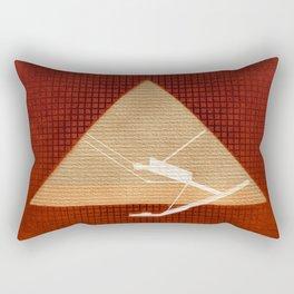Inside the Great Pyramid of Gi Rectangular Pillow