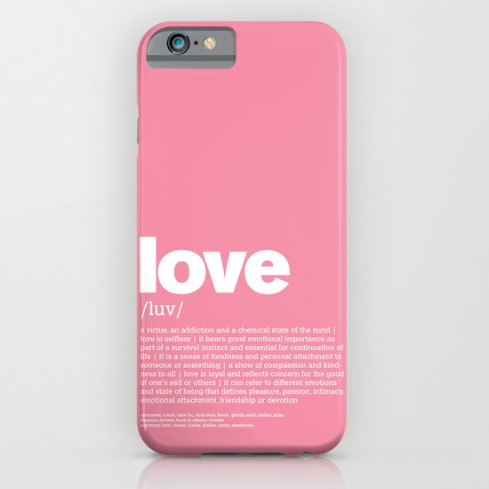 definition LLL - Love iPhone & iPod Case