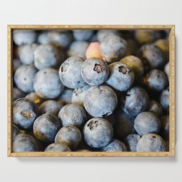 Blueberry Serving Tray