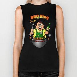 BBQ King Biker Tank