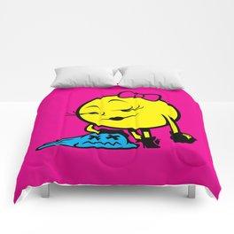 Ms. Pac-Man Comforters