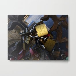 Locked - Photography Metal Print