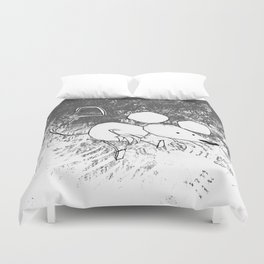 minima - deco mouse Duvet Cover