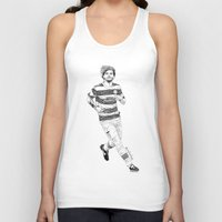 football Tank Tops featuring football by otp-hedgefrog