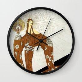 Art Deco 1920's Exotic Theatre Design Wall Clock
