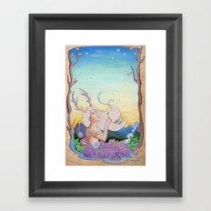 Dandelion Dream Framed Art Print