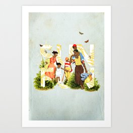 Sun Fun II Art Print