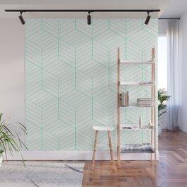 ZADA ((seafoam green)) Wall Mural
