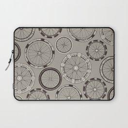 bike wheels stone Laptop Sleeve