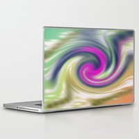 circle Laptop & iPad Skins featuring  circle by Karl-Heinz Lüpke