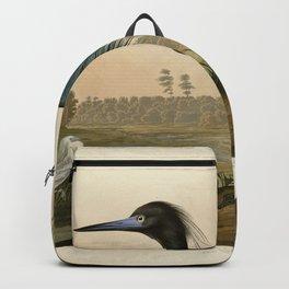 307 Blue Crane or Heron Backpack