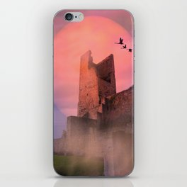 Castle in the evening iPhone Skin