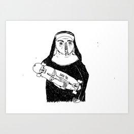 MINI RIP Art Print