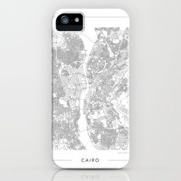 Cairo Map 2 iPhone Case