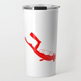 diving be different t-shirt for merry christmas Travel Mug