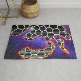 The Equal and Opposite Reaction Rug