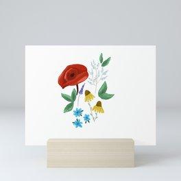 Spring Wildflowers Mini Art Print