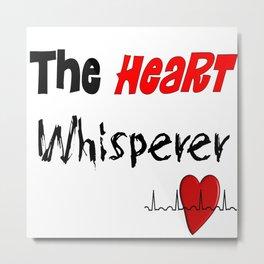 The Heart Whisperer Metal Print