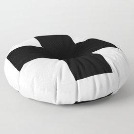 + No. 2 -- Black Floor Pillow