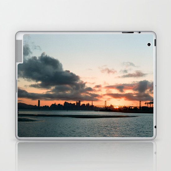 San Francisco sunset Laptop & iPad Skin