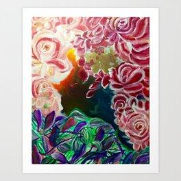 Ode To Creation Art Print