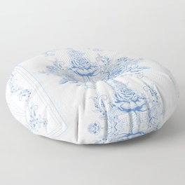 French shabby chic Floor Pillow