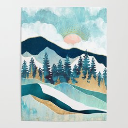 Summer Forest Poster