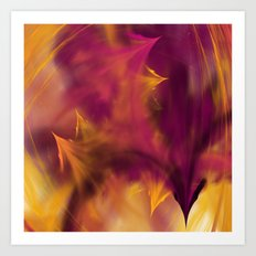 play with the fire Art Print