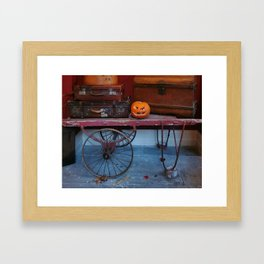 Vintage Halloween Framed Art Print