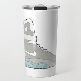 Air Mag grey - back to the future Travel Mug