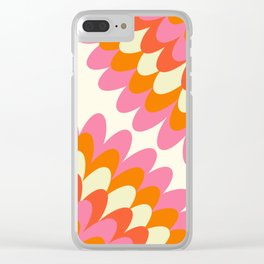 Dahlia at 60's Clear iPhone Case