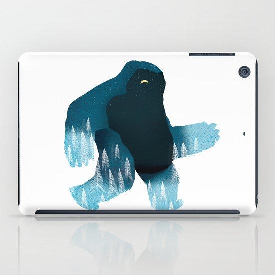 Yeti at Night iPad Case
