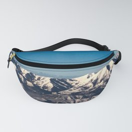 Difficulties Strengthen The Mind, As Labor Does The Body Fanny Pack