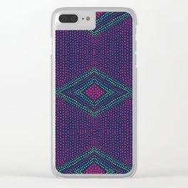 Kaleidoscope Eyes Clear iPhone Case
