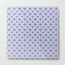 Salisbury Blue Metal Print
