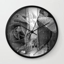 City Rose Wall Clock