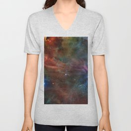 Orion Nebula Unisex V-Neck