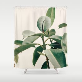 Plant Leaves Shower Curtain
