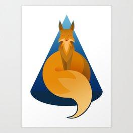 Year Of the Fox Art Print
